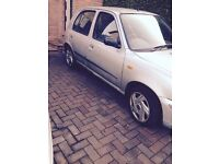 Nissan Micra. Low Mileage, Mot end October 380£