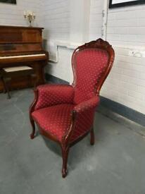 Vintage Single Armchair On Good Condition