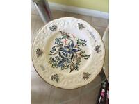 Mother 1978 CLEMATIS (first in an annual series) Bone China Plate