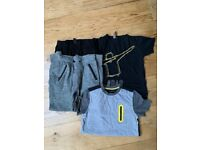 Tracksuit and tshirt bundle boys age 11-12