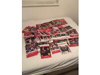 63 Arsenal programmes