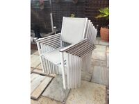 7 outdoor modern chairs