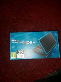 New 2DS XL Black and Turquoise BRAND NEW