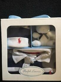 Boys 9 months Ralph Lauren set