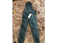 New look dungarees size 8 brand new with tags