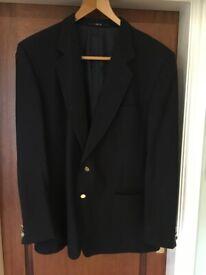 Gentleman's Navy Wool DAKs Blazer