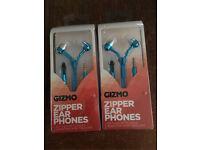ZIPPER EAR PHONES