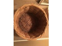 Large wicker basket