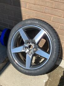 Jaguar XE (2017) Front Alloy Wheel and Brand New Tyre. 225/45/18