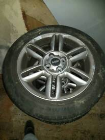 MINI One alloy wheels