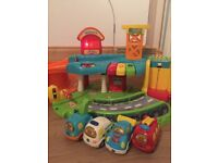 Toot Toot VTech Garage and Cars plus track. Musical light up