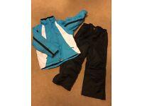 Ski jacket and sallopettes, size 5-6 years