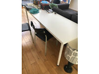 Long White Table L200 x W60 x H75 cm. Available immediately.