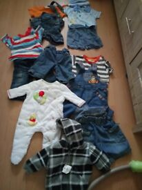 Bundle baby boys clothes 10.00