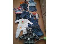 Bundle baby boys clothes 10.00