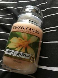 Used once large Yankee candle