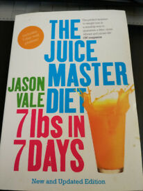 7 lbs in 7 Days, Juicy MASTER diet Jason Vale book