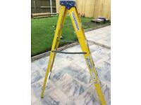 Fibre glass step ladders