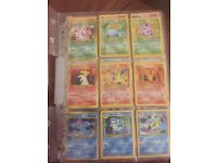 Assorted Pokemon cards, Charazard