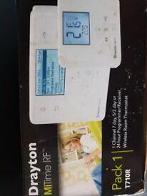 Drayton Wireless central heating clock