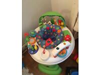Activity centre / seat / walker for babies / infants with music / sound / tunes