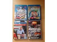 4 Top Gear DVDs - including x2 Blue Ray!