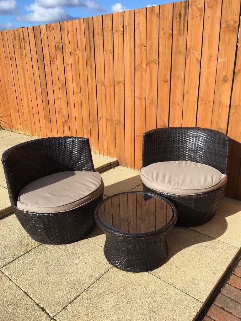 Garden patio rattan furniture