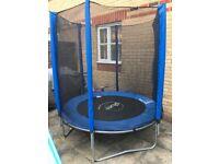 6' plum trampoline