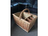 Extra Large wicker picnic basket