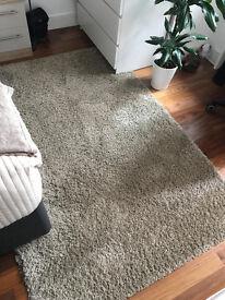 Ikea HAMPEN rug (beige)