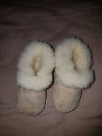 M&S baby boots 0-3M