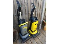 Karcher floor cleaning machines and wet pick up Wet
