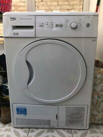 Beko dryer 8kg in excellent condition