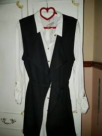 Bundle of 2x top and waistcoat. Bnwt size 16.