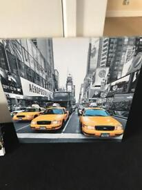 6 New York wall canvas's