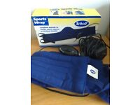 Scholl Sports Wrap Heat to soothe sports injuries