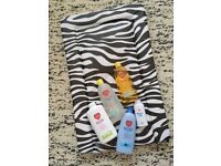 Brand new changing mat & baby care bundle