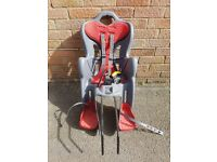 Bellini Child Bicycle seat for sale - used once!