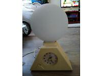 Vintage Retro Bio Brite Biobrite Europa Sunrise Natural Alarm Clock Lamp Light