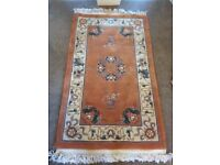 Peach Chinese style Rug