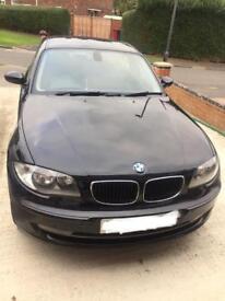 BMW 118d 2009 black colour low mileage (90000) HPI CLEAR