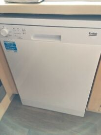 Brand new and unused Beko dishwasher for sale
