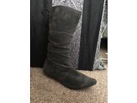 Ladies size 5 river island boots