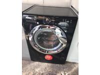 Black 9kg 1400 Spin Hoover Washing Machine Like New Just £145 Sittingbourne