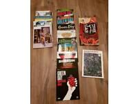 Various guitar tab books