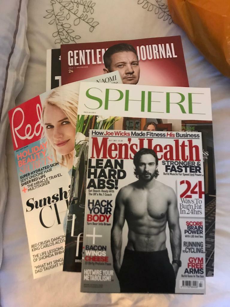 New Quality Magazines  Ideal location n Salon/Art, Bundles for ( 1-3