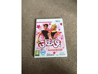 Wii game grease the official video game