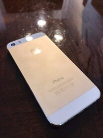 +++GOLD IPHONE 5S IN SHOREDITCH+++