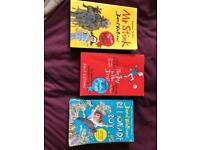 Bundle of David Walliams books. Mr Stink, Billionaire Boy and The Boy in the Dress