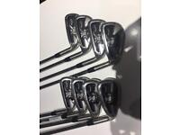 Callaway X22 Tour irons, 3i to PW, reg steel.